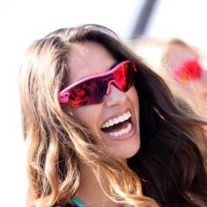 Dazzling White Teeth and Swimsuit Models Wearing their Oakley Sunglasses
