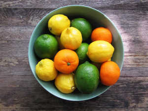 Citrus Fruits - The right ones can contain vitamins for teeth