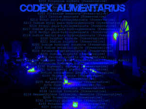 Codex alimentarius. E-codes for food additives. E numbers. Nutricide. Conspiracy. European Union. NWO. Depopulation. Fema. Fluoride. Sedation.